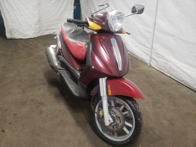 Salvage cars for sale from Copart Windsor, NJ: 2008 Piaggio BV 500