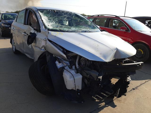 Vehiculos salvage en venta de Copart Grand Prairie, TX: 2019 Nissan Sentra S