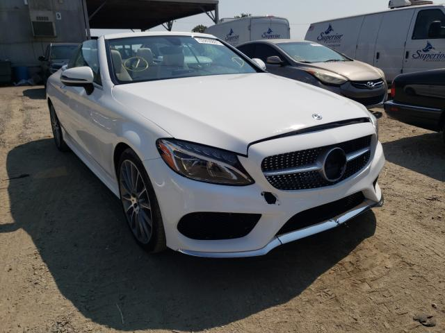 Salvage cars for sale from Copart Los Angeles, CA: 2017 Mercedes-Benz C300