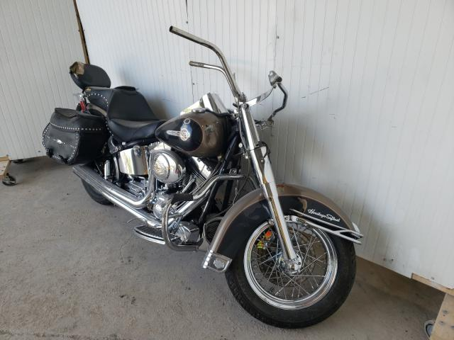 Salvage cars for sale from Copart Des Moines, IA: 2004 Harley-Davidson Flstci