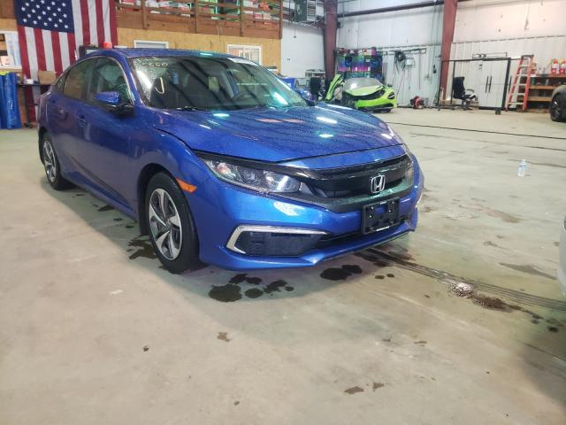 Salvage cars for sale from Copart Austell, GA: 2022 Honda Civic LX