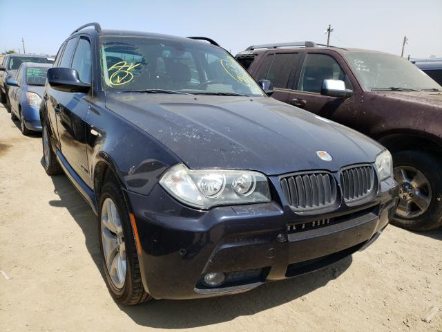 Salvage cars for sale from Copart San Martin, CA: 2010 BMW X3 XDRIVE3