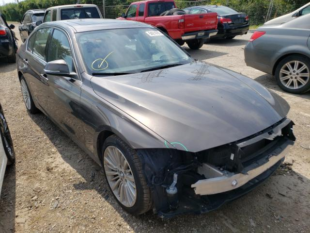 Salvage cars for sale from Copart Wheeling, IL: 2014 BMW 328 XI