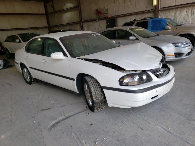 Salvage cars for sale from Copart Eldridge, IA: 2002 Chevrolet Impala