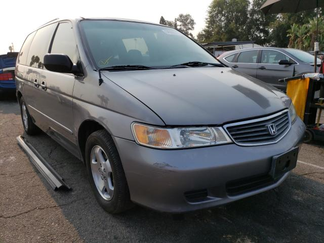 Salvage cars for sale from Copart Van Nuys, CA: 2000 Honda Odyssey EX