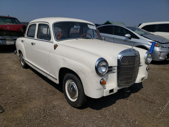 Salvage cars for sale from Copart San Martin, CA: 1962 Mercedes-Benz 190D