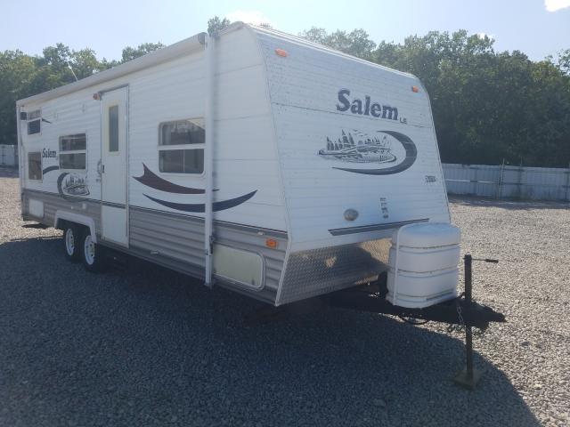 Salem Travel Trailer salvage cars for sale: 2005 Salem Travel Trailer
