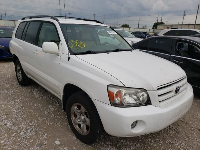 Salvage cars for sale from Copart Haslet, TX: 2007 Toyota Highlander