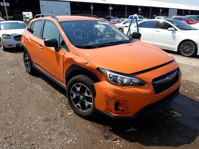 Subaru salvage cars for sale: 2018 Subaru Crosstrek