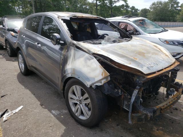 KIA salvage cars for sale: 2018 KIA Sportage L