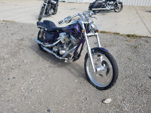 Salvage cars for sale from Copart Cicero, IN: 1991 Harley-Davidson Fxrt
