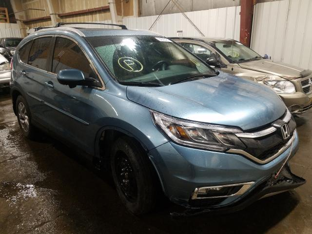 Salvage cars for sale at Anchorage, AK auction: 2015 Honda CR-V EXL