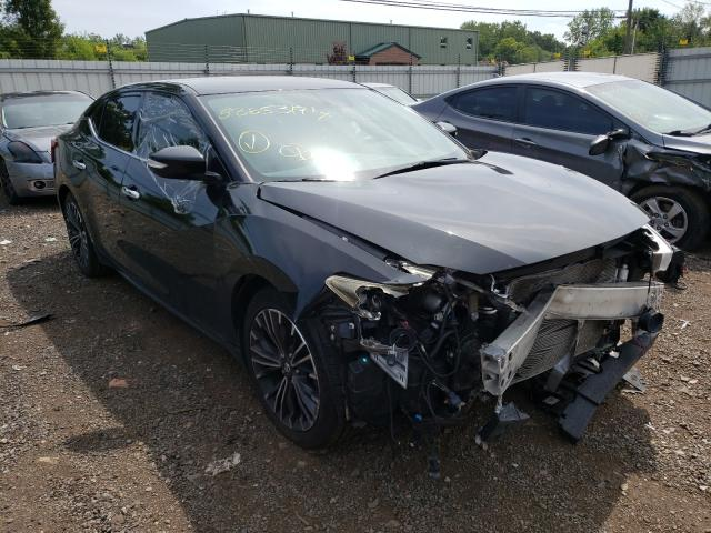 Salvage cars for sale from Copart New Britain, CT: 2016 Nissan Maxima