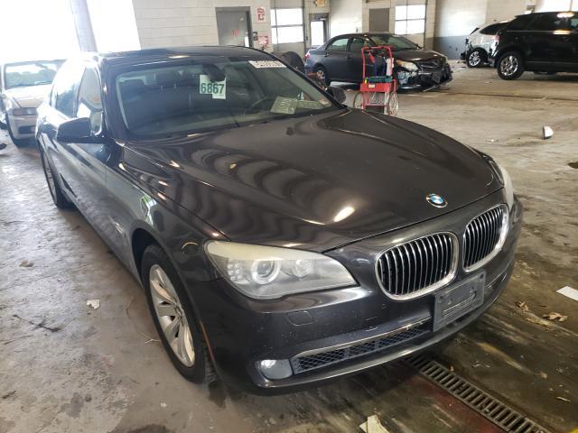 Salvage 2011 BMW 7 SERIES - Small image. Lot 54055061