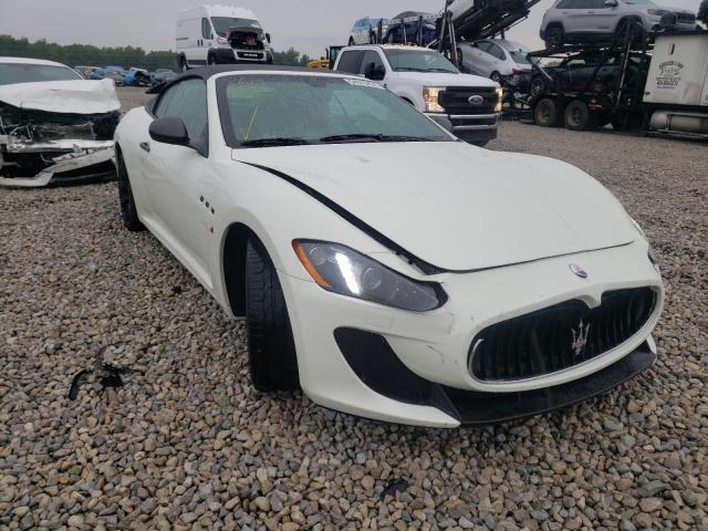 Maserati Granturismo salvage cars for sale: 2013 Maserati Granturismo