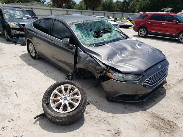 Ford salvage cars for sale: 2018 Ford Fusion S