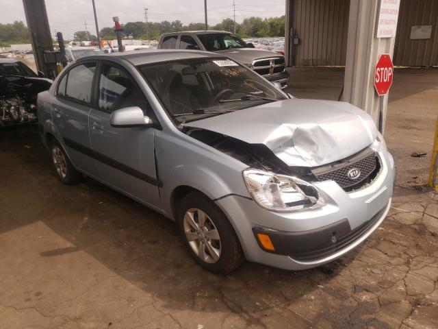 Salvage cars for sale from Copart Fort Wayne, IN: 2009 KIA Rio Base