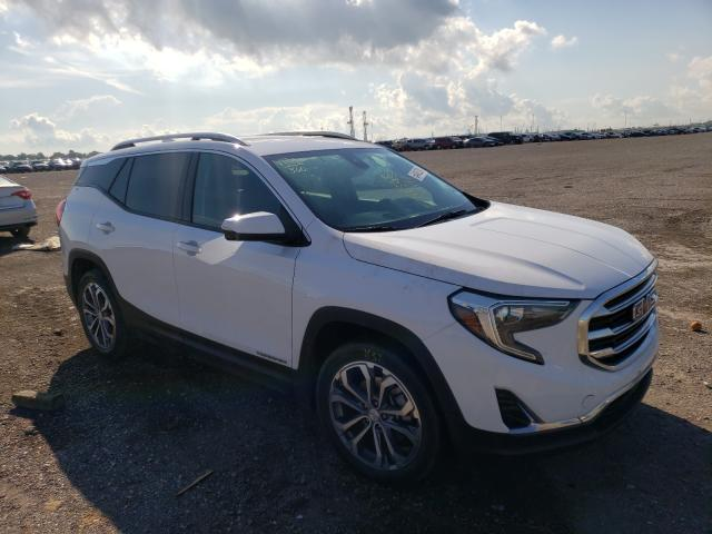 Salvage cars for sale from Copart Houston, TX: 2020 GMC Terrain SL