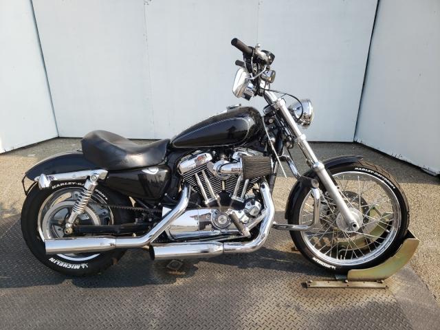 Harley-Davidson salvage cars for sale: 2010 Harley-Davidson XL1200 C