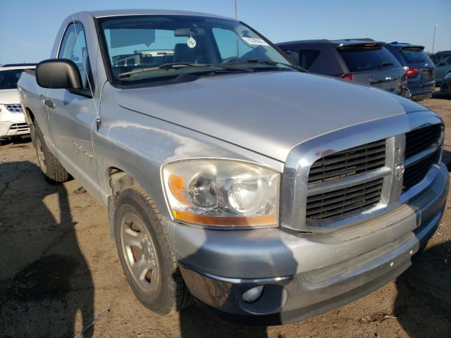 Salvage cars for sale from Copart Woodhaven, MI: 2006 Dodge RAM 1500 S