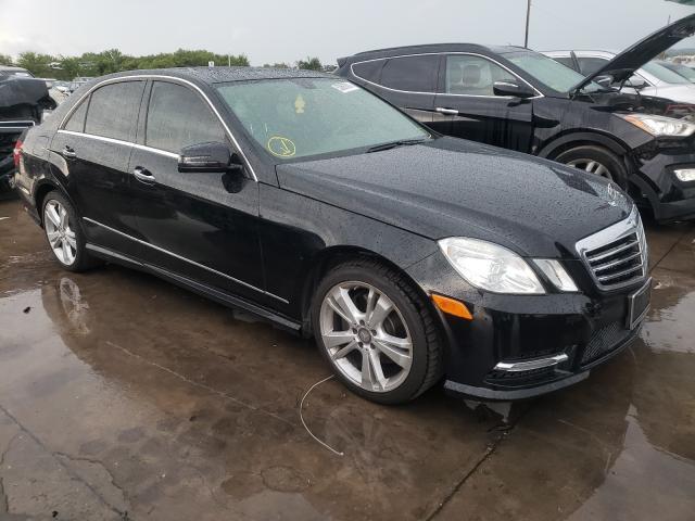 Vehiculos salvage en venta de Copart Grand Prairie, TX: 2013 Mercedes-Benz E 350