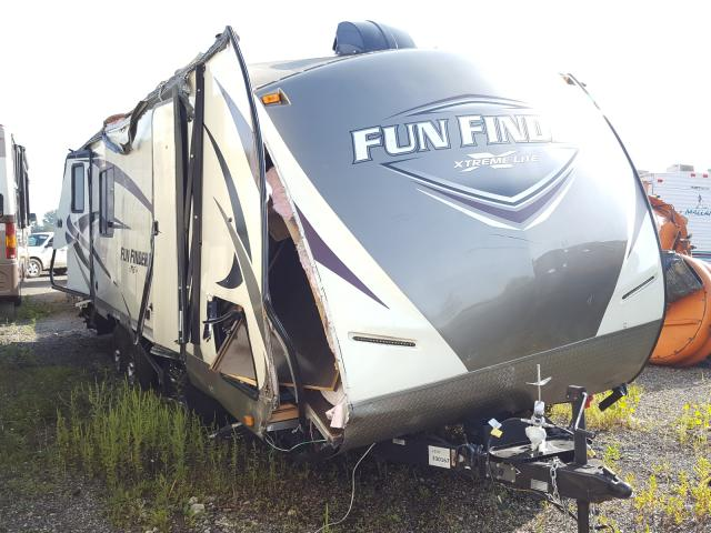 Funf salvage cars for sale: 2017 Funf Travel Trailer
