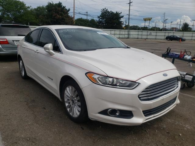 Salvage cars for sale from Copart Moraine, OH: 2013 Ford Fusion SE