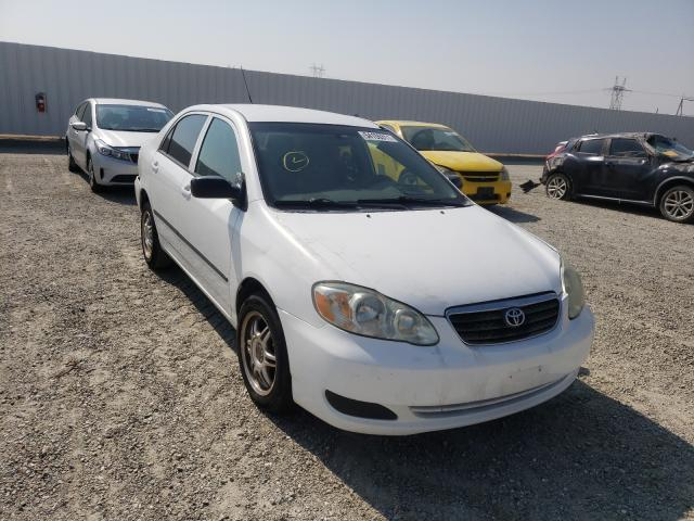 Salvage cars for sale from Copart Adelanto, CA: 2007 Toyota Corolla CE
