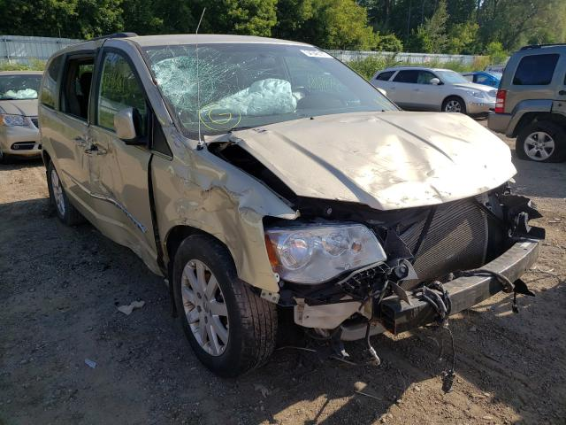 Salvage cars for sale from Copart Davison, MI: 2011 Chrysler Town & Country