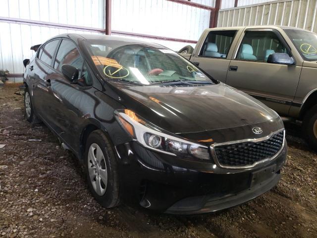 KIA Forte LX salvage cars for sale: 2018 KIA Forte LX