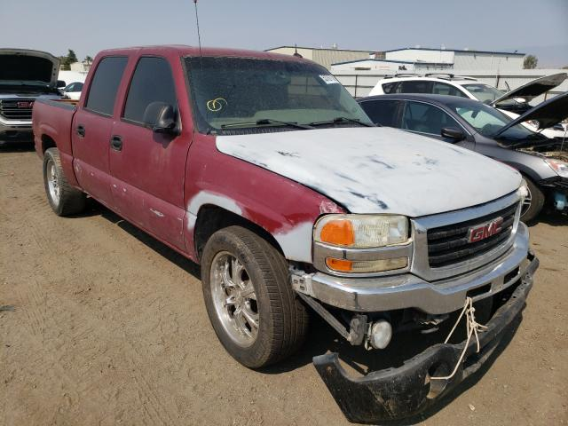 Salvage cars for sale from Copart Bakersfield, CA: 2005 GMC New Sierra