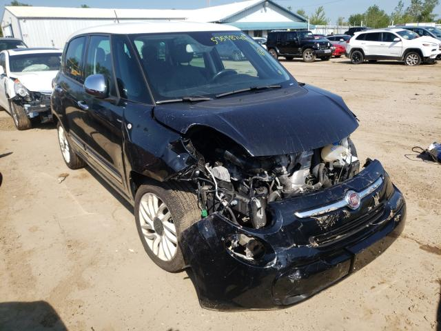 Fiat salvage cars for sale: 2014 Fiat 500L Loung