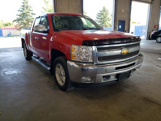 Salvage cars for sale from Copart Blaine, MN: 2012 Chevrolet Silverado