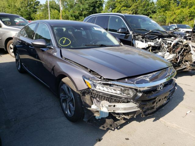 Salvage cars for sale from Copart Marlboro, NY: 2019 Honda Accord EX