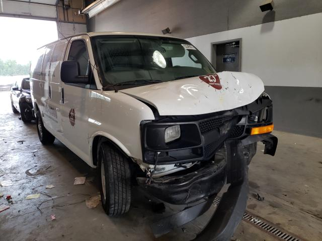 Salvage trucks for sale at Sandston, VA auction: 2017 Chevrolet Express G2