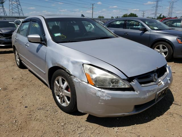 Salvage cars for sale at Elgin, IL auction: 2005 Honda Accord EX
