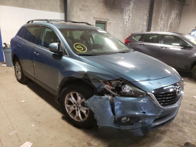 Vehiculos salvage en venta de Copart Chalfont, PA: 2015 Mazda CX-9 Touring