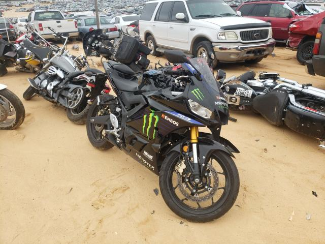 Salvage cars for sale from Copart Gaston, SC: 2021 Yamaha YZFR3 A