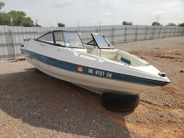 Salvage boats for sale at Oklahoma City, OK auction: 1995 VIP Victryboat