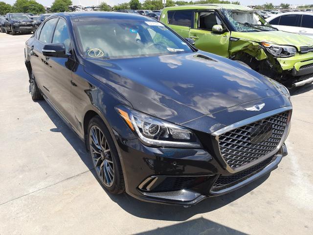 Genesis salvage cars for sale: 2019 Genesis G80 Base