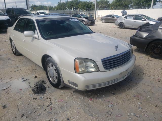 Vehiculos salvage en venta de Copart Homestead, FL: 2003 Cadillac Deville