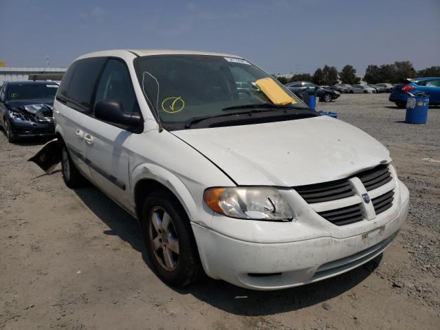 Dodge Caravan salvage cars for sale: 2007 Dodge Caravan
