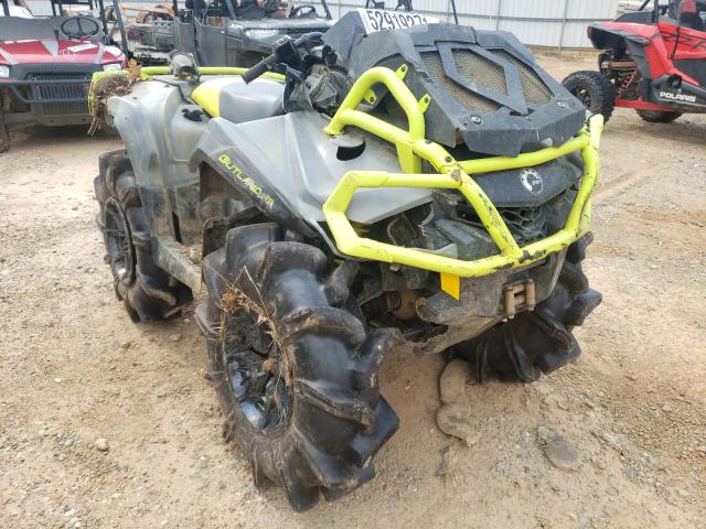 Salvage cars for sale from Copart Longview, TX: 2020 Can-Am Outlander