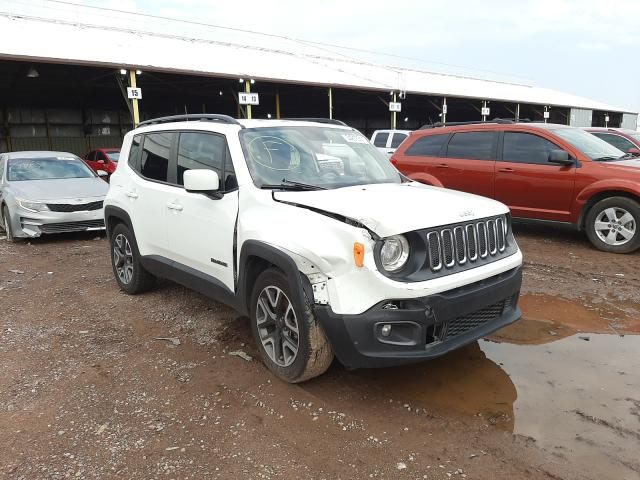 Salvage cars for sale from Copart Phoenix, AZ: 2018 Jeep Renegade L