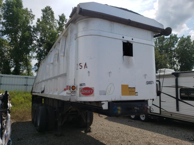 Dorsey Trailers salvage cars for sale: 1990 Dorsey Trailers Trailer