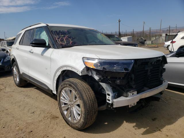 Salvage cars for sale from Copart San Martin, CA: 2020 Ford Explorer L