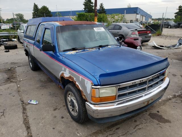 Dodge salvage cars for sale: 1992 Dodge Dakota