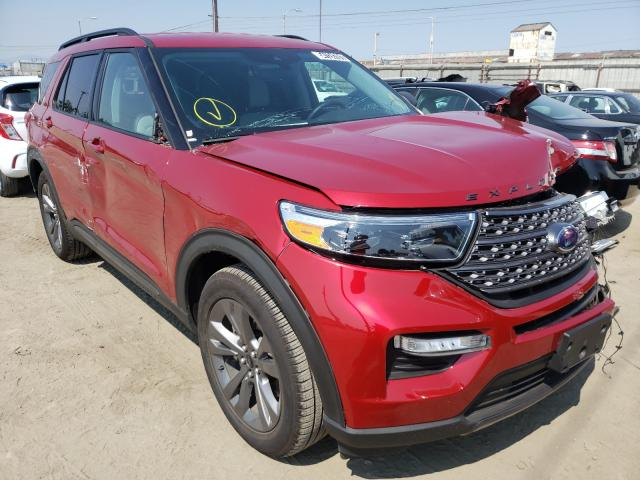 Rental Vehicles for sale at auction: 2021 Ford Explorer X