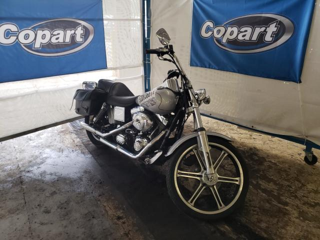 Salvage cars for sale from Copart Fort Wayne, IN: 2002 Harley-Davidson Fxdwg