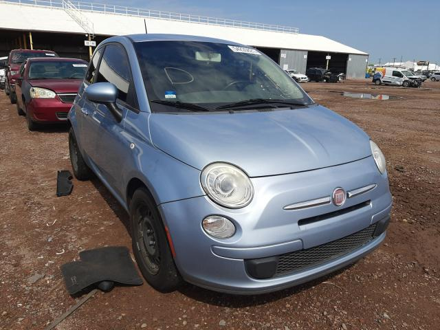 Vehiculos salvage en venta de Copart Phoenix, AZ: 2013 Fiat 500 POP